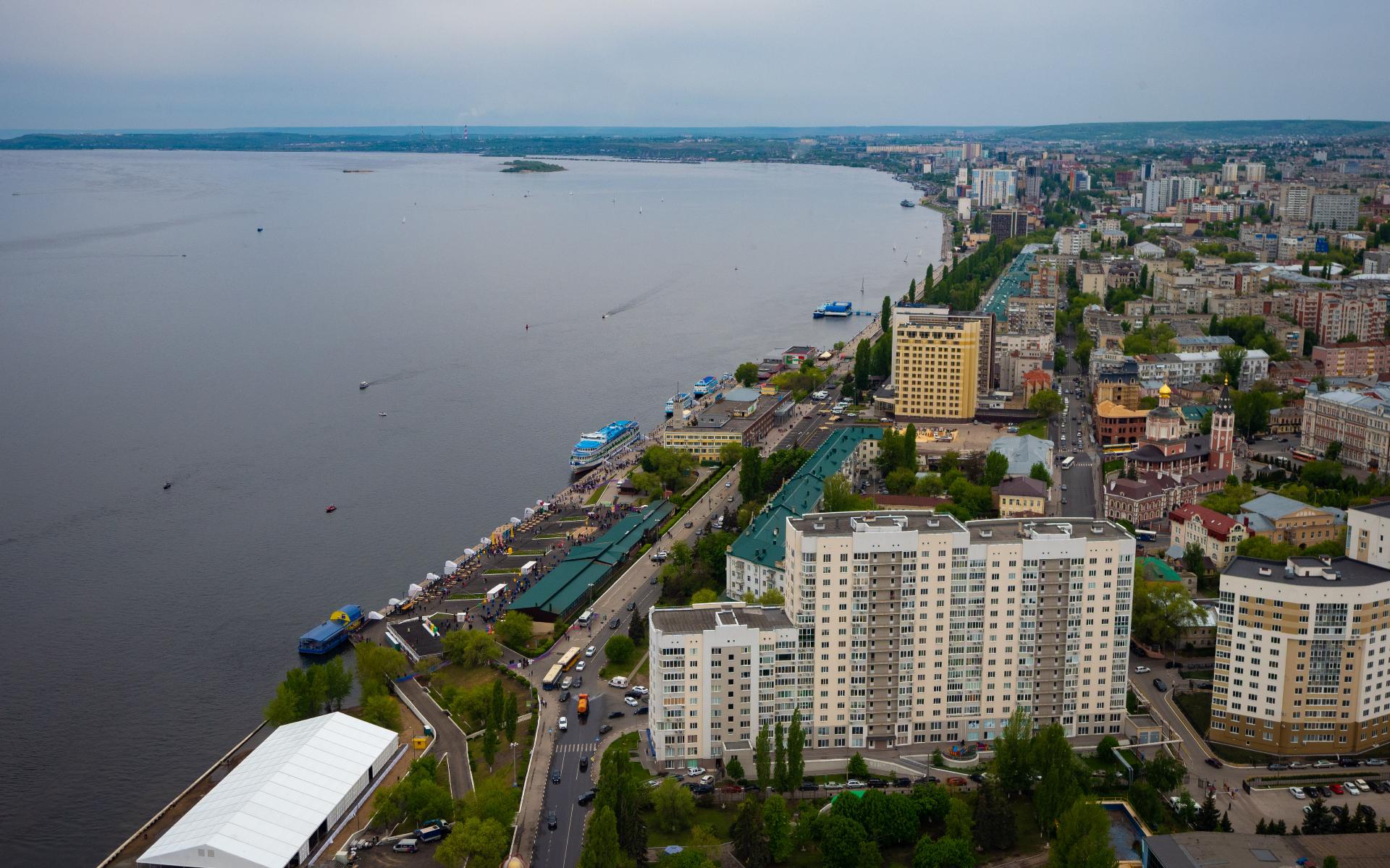 За год цена 1 кв. м в новостройках Саратова упала на 13,1%
