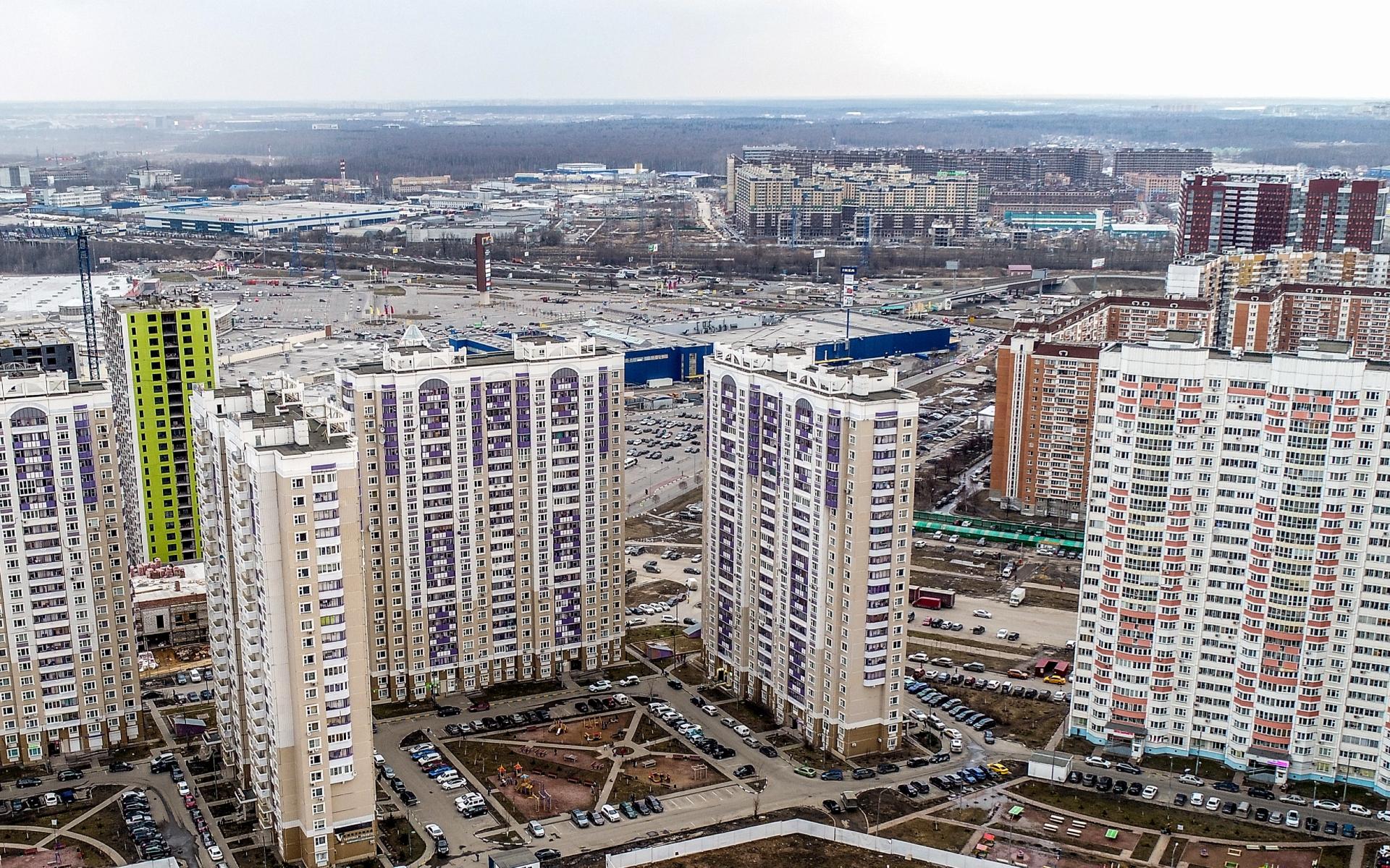 В тройку лидеров по росту цен на новостройки вошли Долгопрудный, Наро-Фоминск и Мытищи