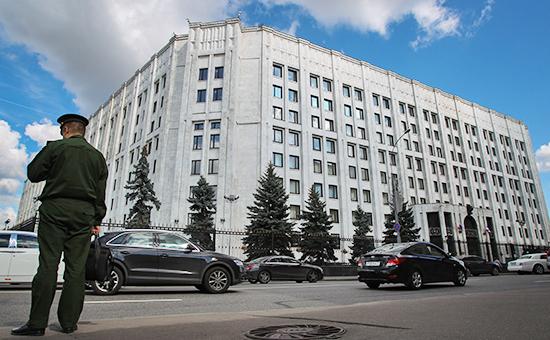 Здание МинобороныРФ