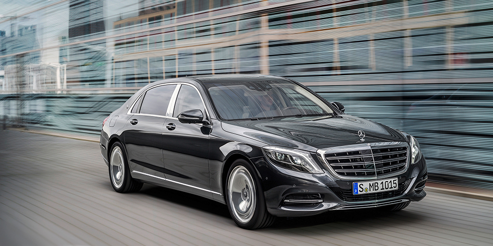 Mercedes-Maybach S500 (министр по делам«Открытого правительства»Михаил Абызов)