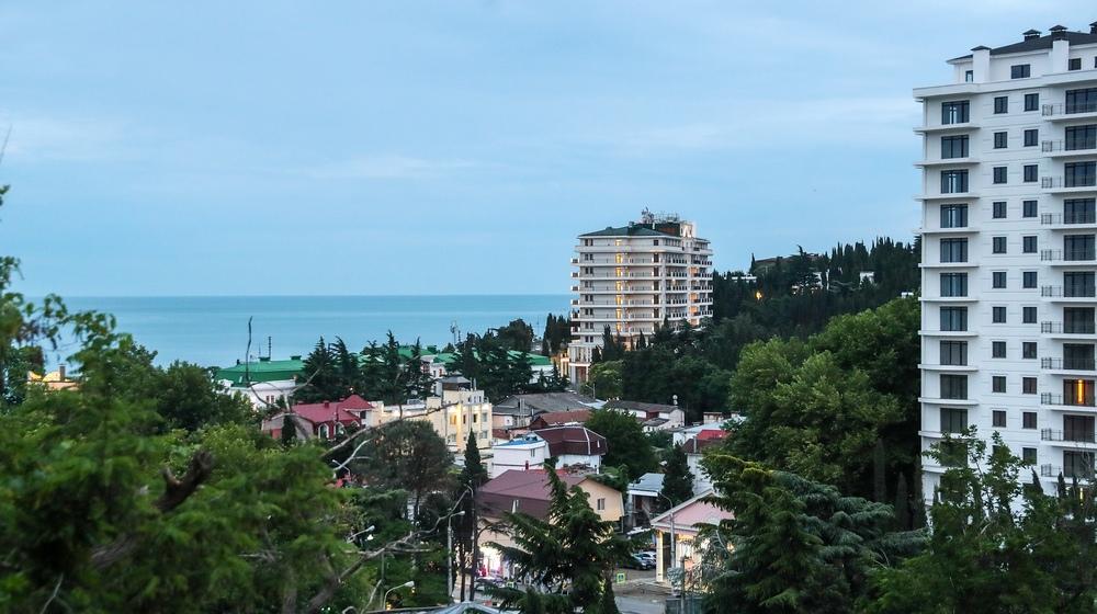 Алушта, город на Черноморском побережье Крыма
