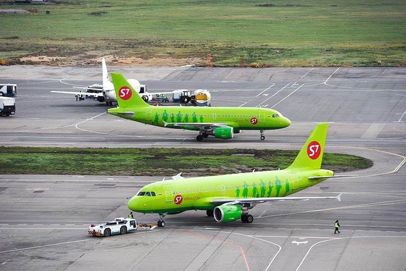 Средний возраст самолетов авиакомпанииS7, четвертого поколичеству флота перевозчика, —9,2 года