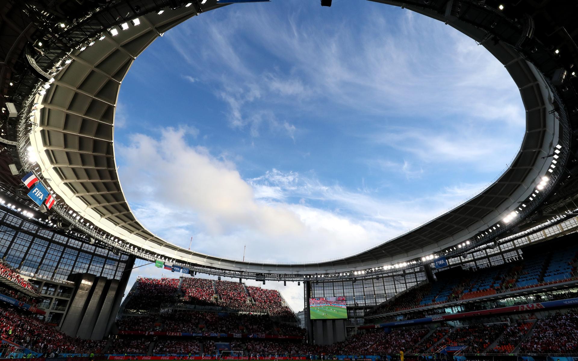 Фото:Арена в Екатеринбурге во время чемпионата мира-2018 (Getty Images)