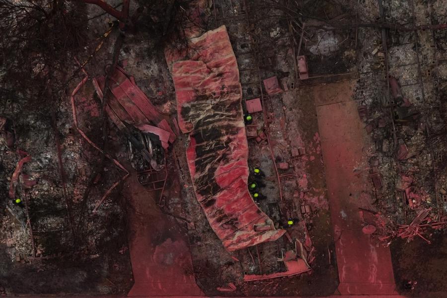 Победитель в номинации «Серии»: «Покрытый огнестойким покрывалом». В серии показан американский город Талент и последствия крупного пожара, охватившего поселение в 2020 году
