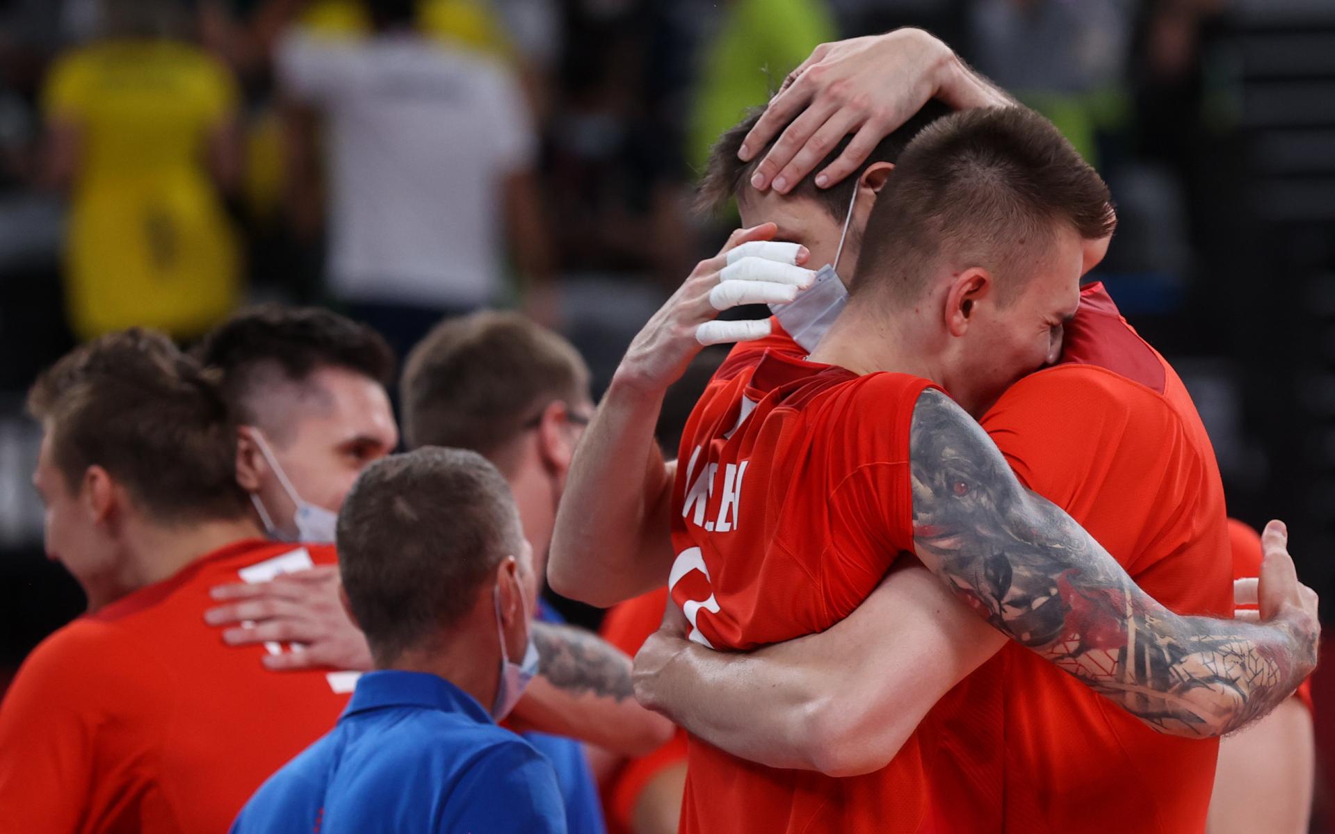 Фото: Сборная России по волейболу (Станислав Красильников/ТАСС)