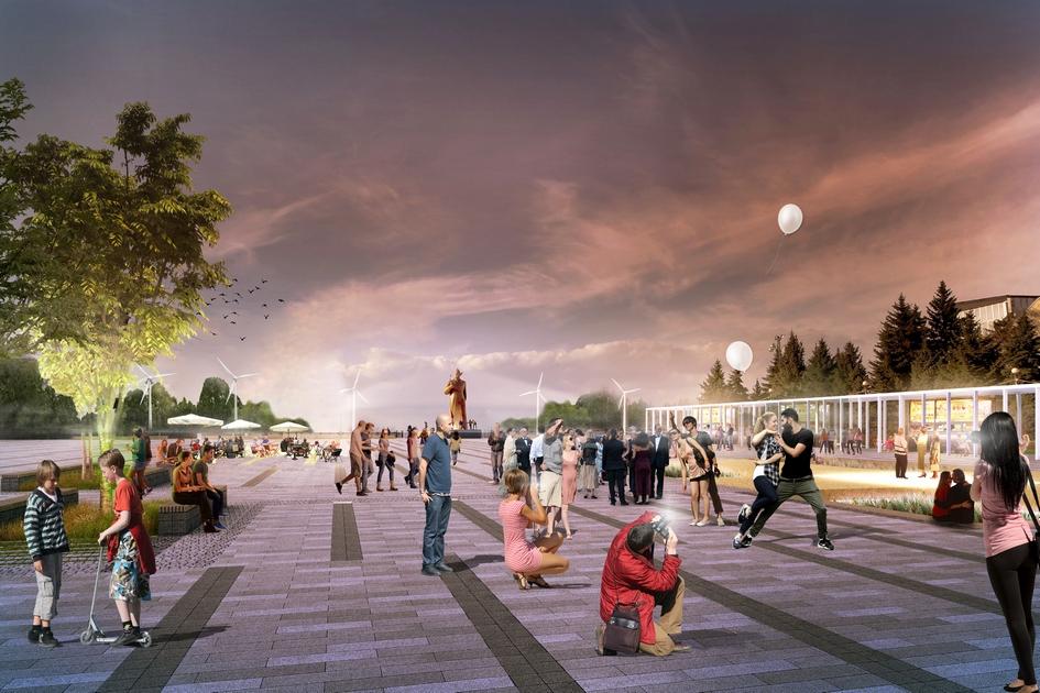 Ставрополь. Концепция благоустройства Солдатской площади попроекту Magic Project