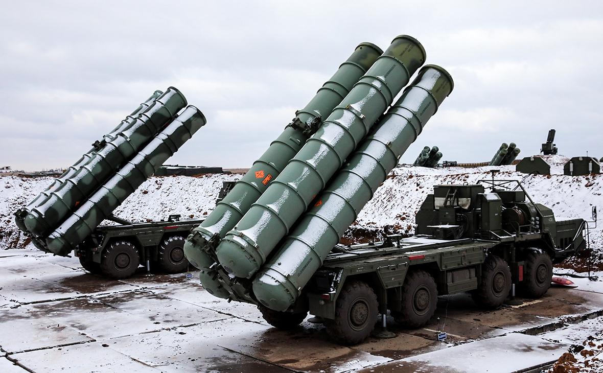 Зенитные управляемые ракеты систем С-400
