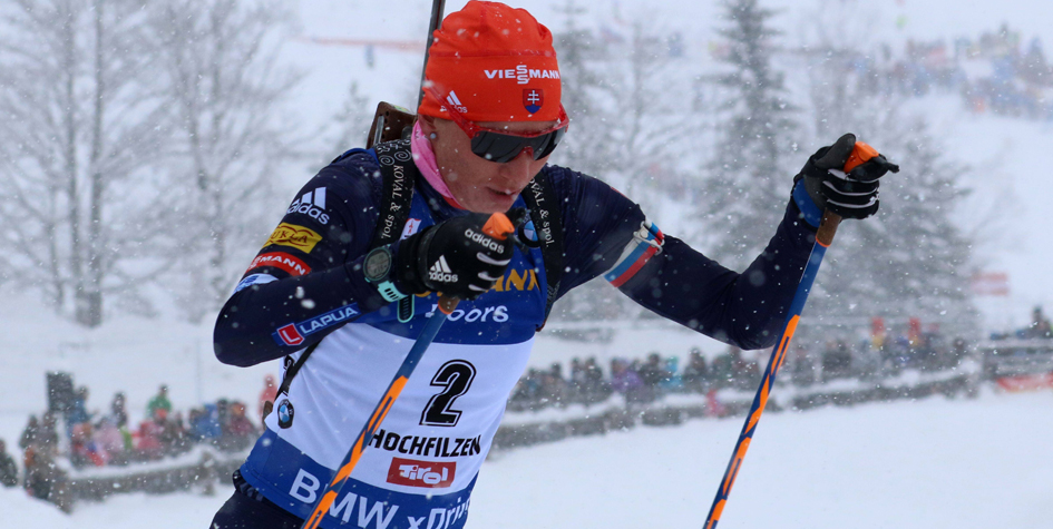 Анастасия Кузьмина выиграла 15-ю гонку на этапах Кубка мира по биатлону