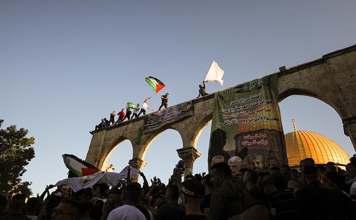 Старый город Иерусалима на фоне боевых действий между Израилем и Газой