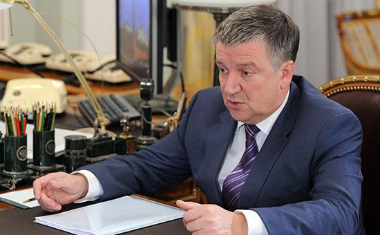 Глава Карелии Александр Худилайнен