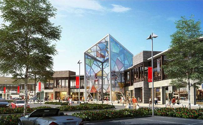 Проект торгово-развлекательно центра с аквапарком