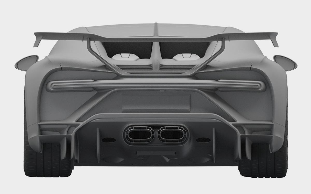 <p>Тираж Bugatti Chiron Pur Sport составит всего 16 экземпляров.</p>