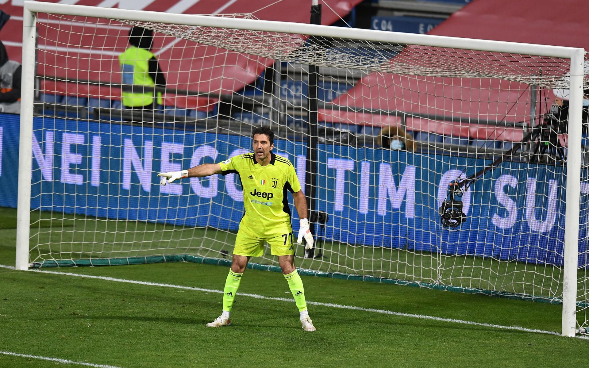 Фото: Джанлуиджи Буффон (Alessandro Sabattini/Getty Images for Lega Serie A)