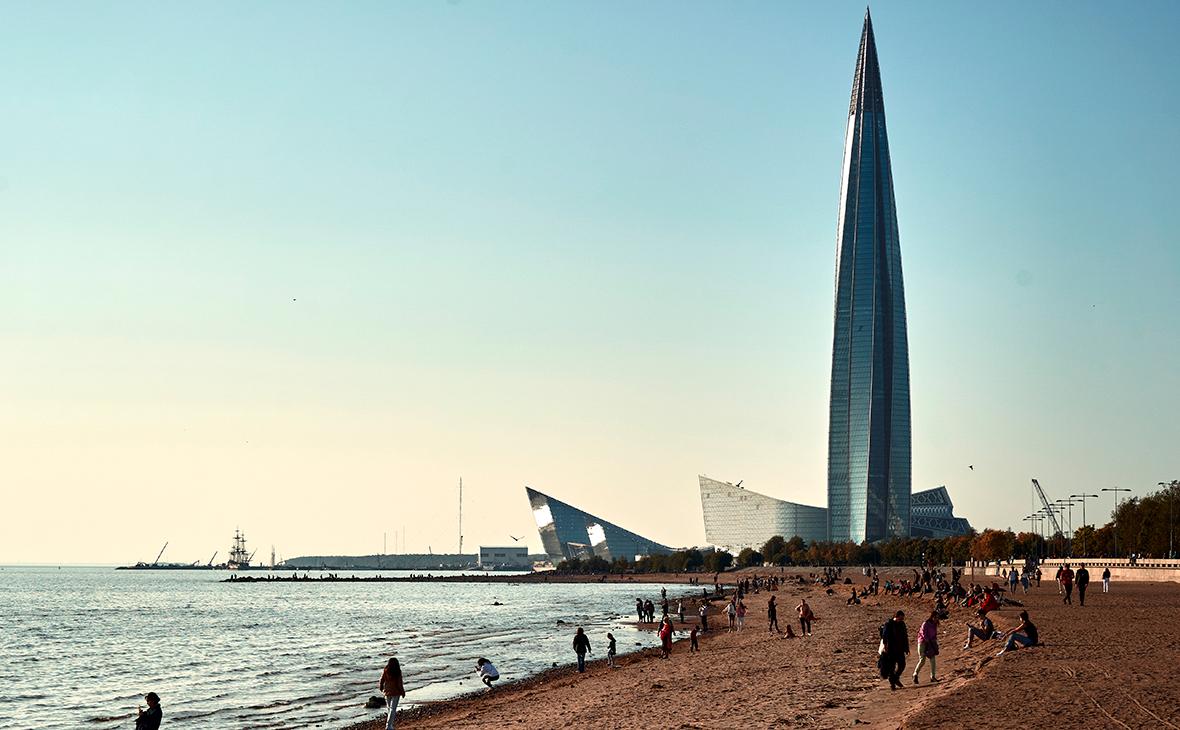 Путин назвал доходы Петербурга от переезда «Газпрома»