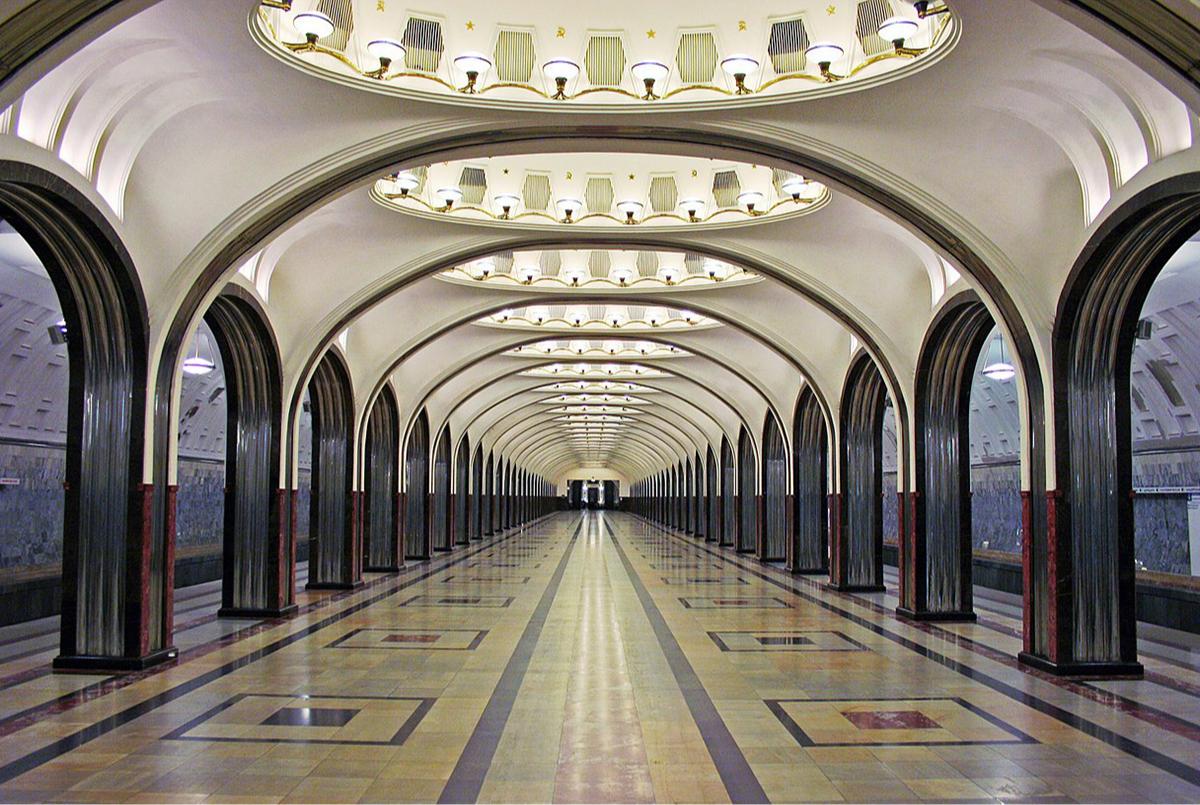 Станция«Маяковская», Замоскворецкая линия