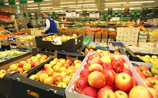 После введения продуктового эмбарго, поставки яблок из Швейцарии выросли в 400 раз