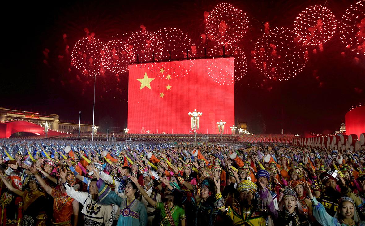 Празднование70-летия образования КНР в Пекине