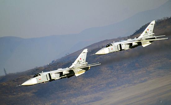 Российские фронтовые бомбардировщики. Архивное фото