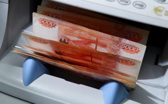 Денежные купюры номиналом 5000 руб.