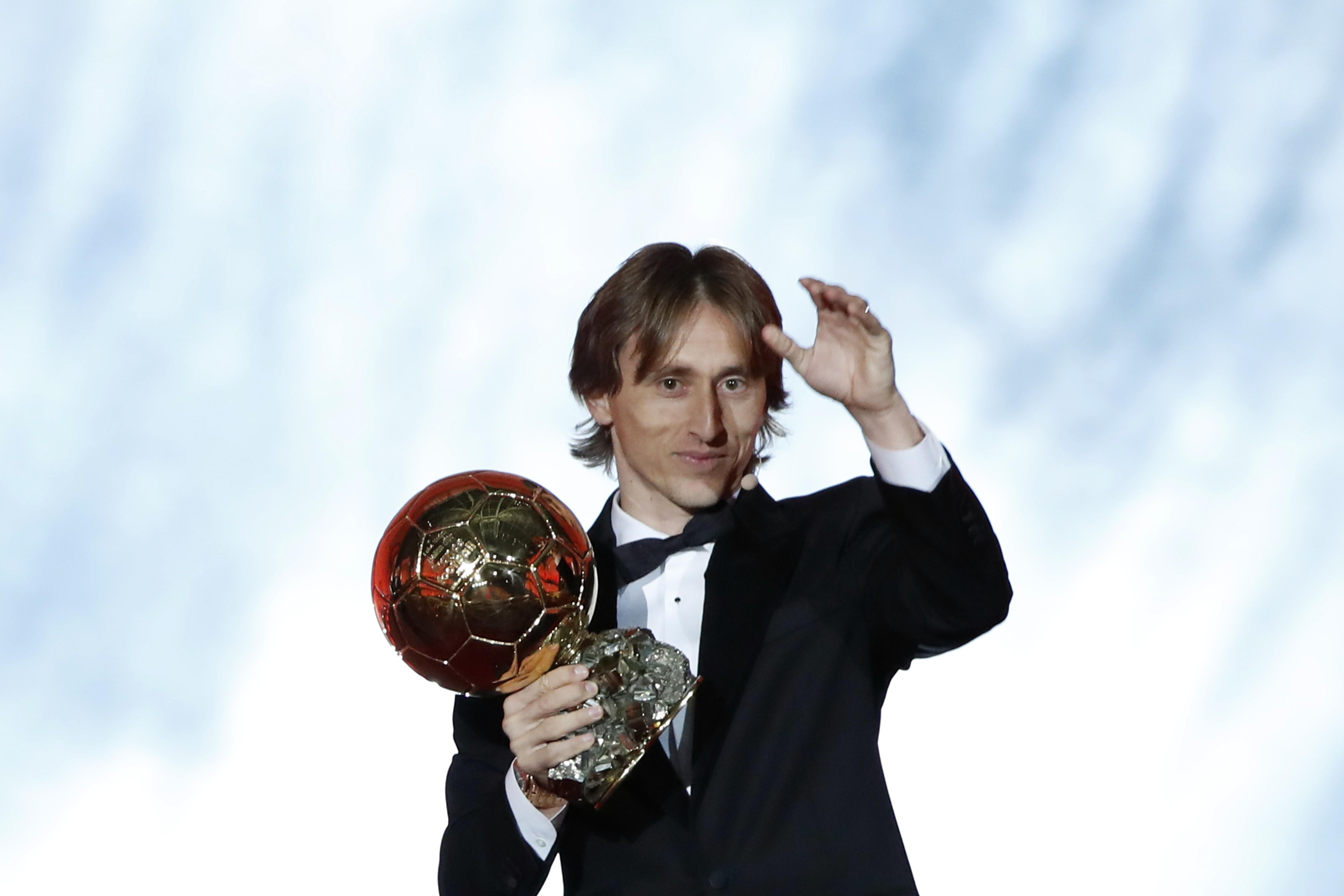 Обладатель «Золотого мяча» 2018 года Лука Модрич