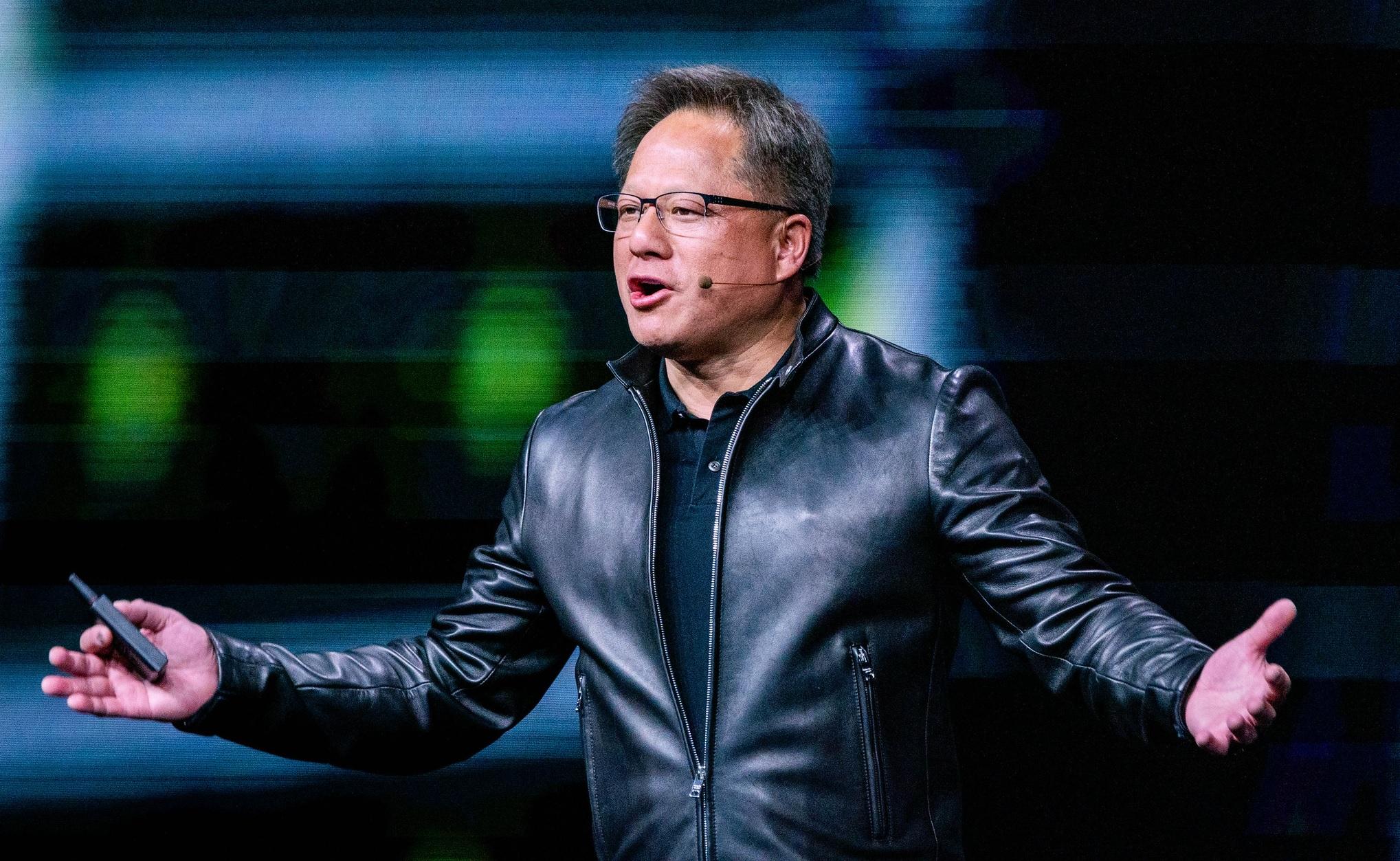 Глава NVIDIA Дженсен Хуанг