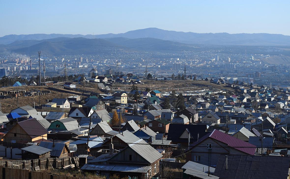 Вид на город Улан-Уде