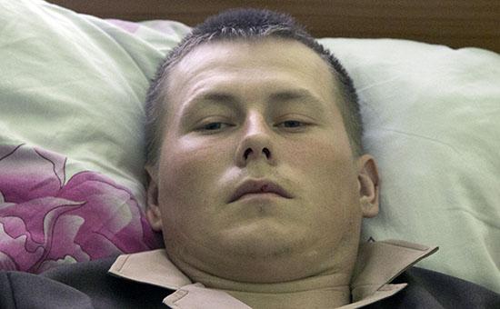 Арестованный россиянин Александр Александров