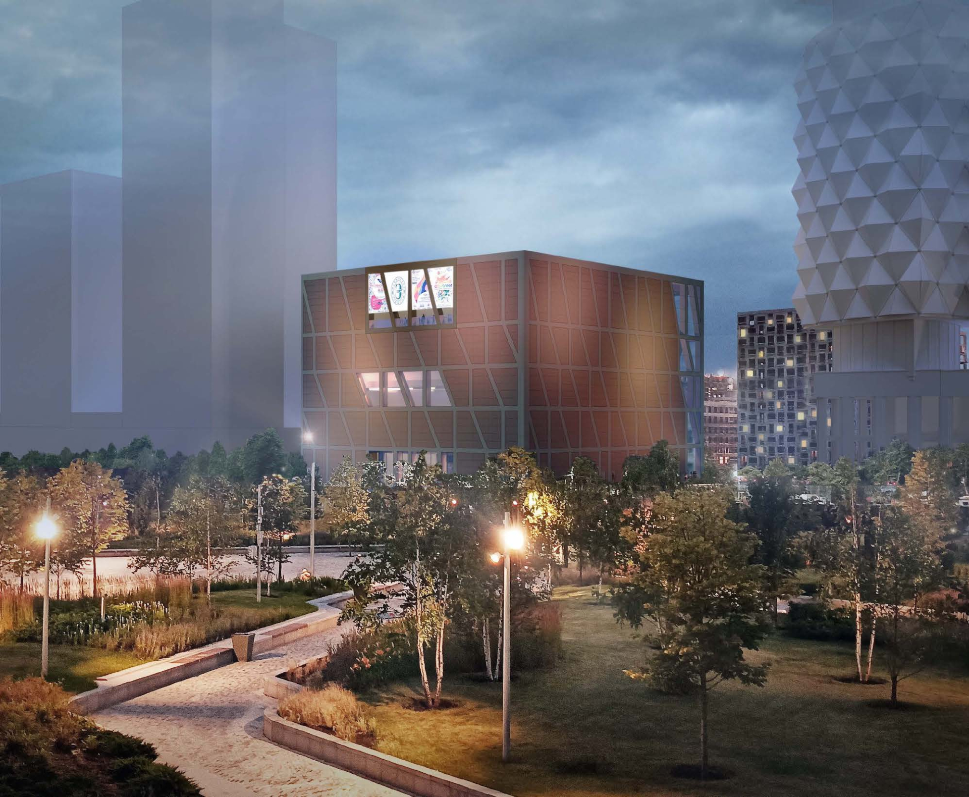 В московском филиале Эрмитажа разместят выставочные залы, офисные и общественные пространства