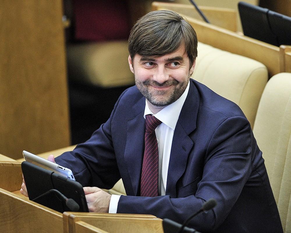 Вице-спикер Госдумы РФ Сергей Железняк