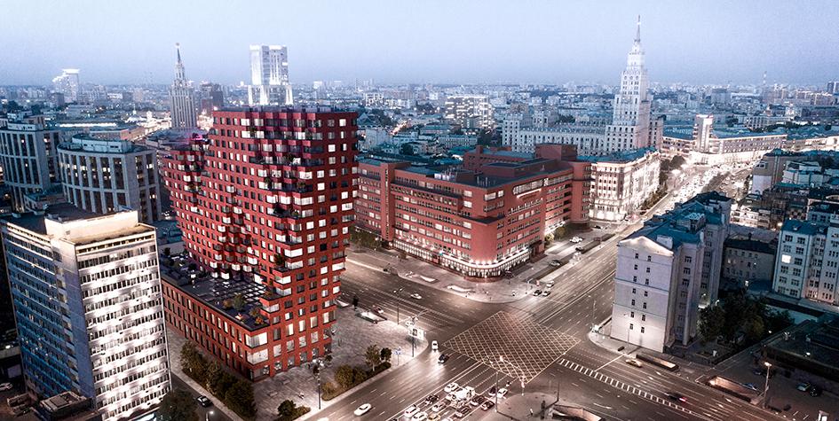 Многофункциональный комплекс с апартаментами RED7