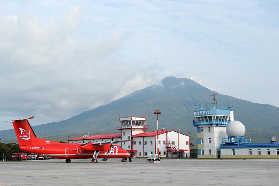 Аэропорт «Итуруп» в Сахалинской области. 2014 год
