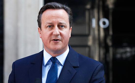 Премьер-министр Великобритании Дэвид Кэмерон послеподведения итогов референдума очленстве Великобритании вЕС