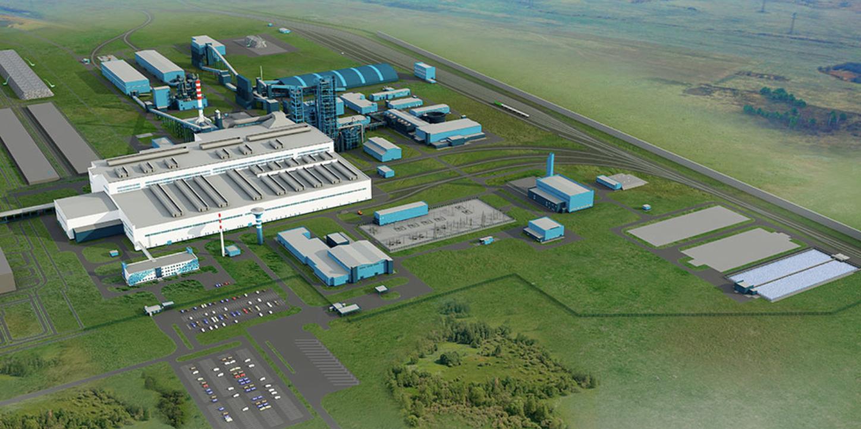 План электрометаллургического комплекса «Эколант» в Выксе