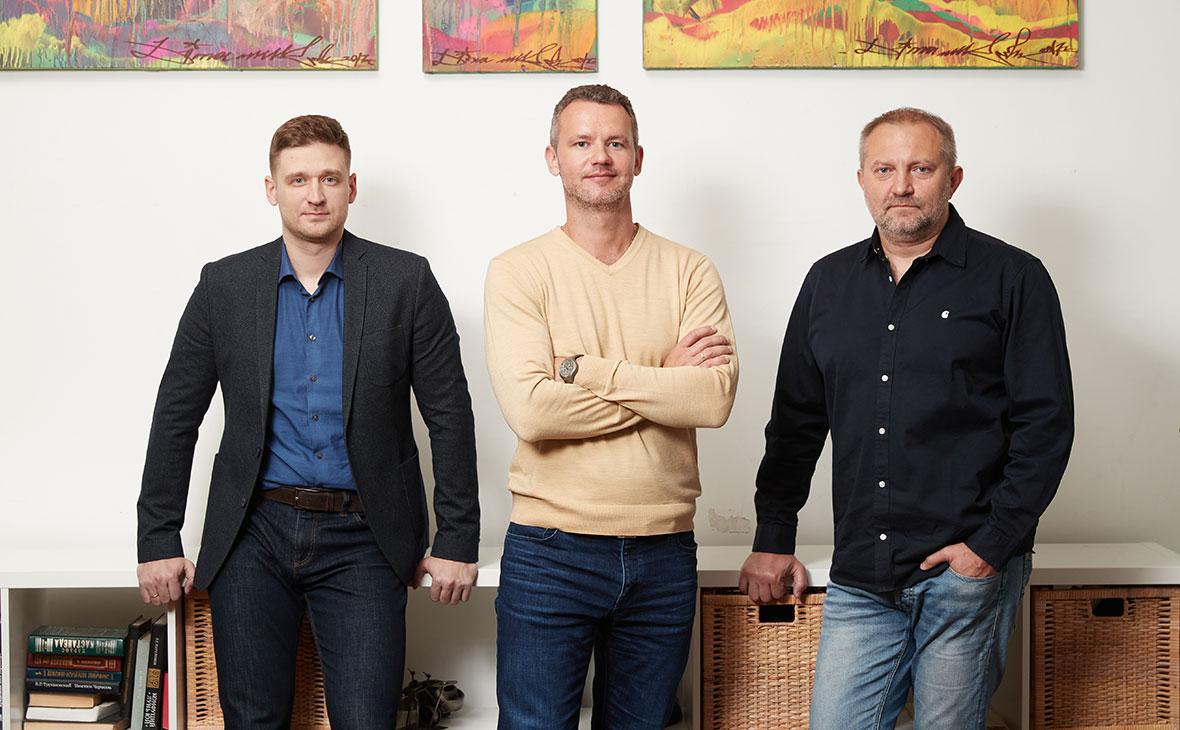 Вадим Шавлюкевич,Иван Шкварун и Сергей Юрченко