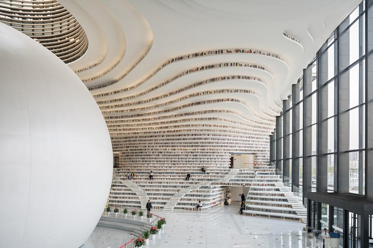 Библиотека в Тяньцзине