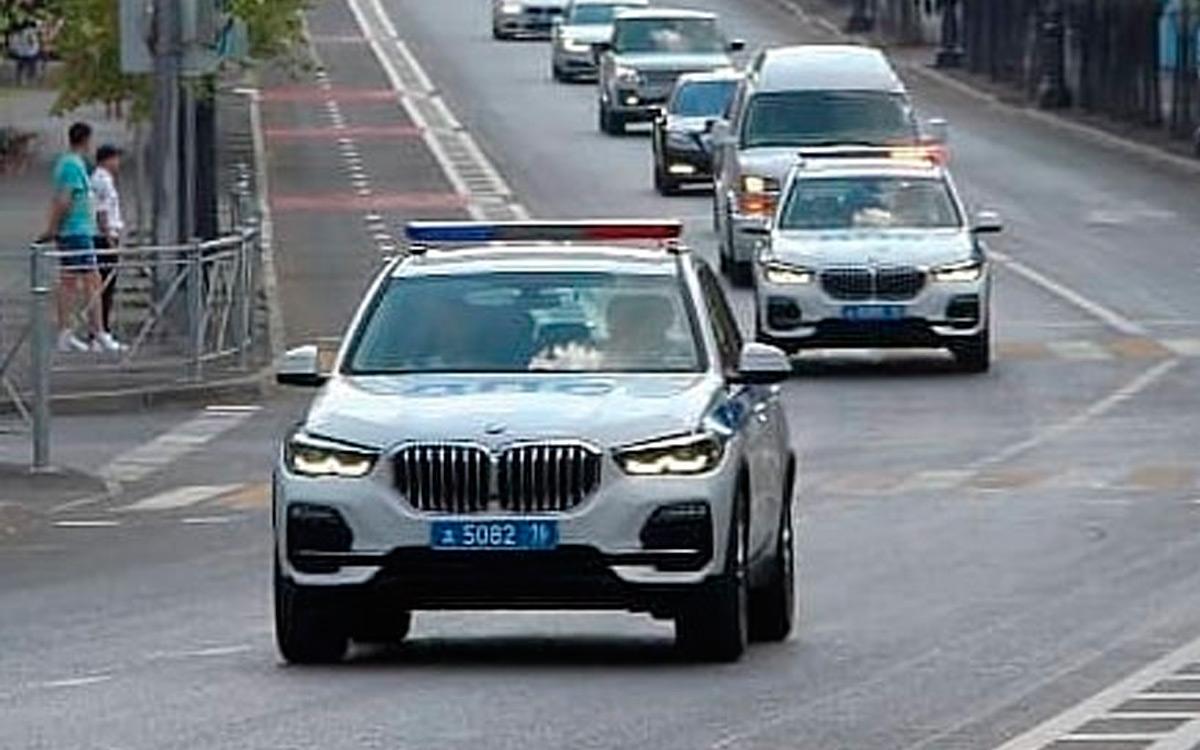 Новые патрульные BMW X5, которые поступили казанскому управлению ГИБДД