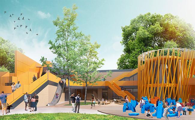 Проект обновления детской территории Московского зоопарка