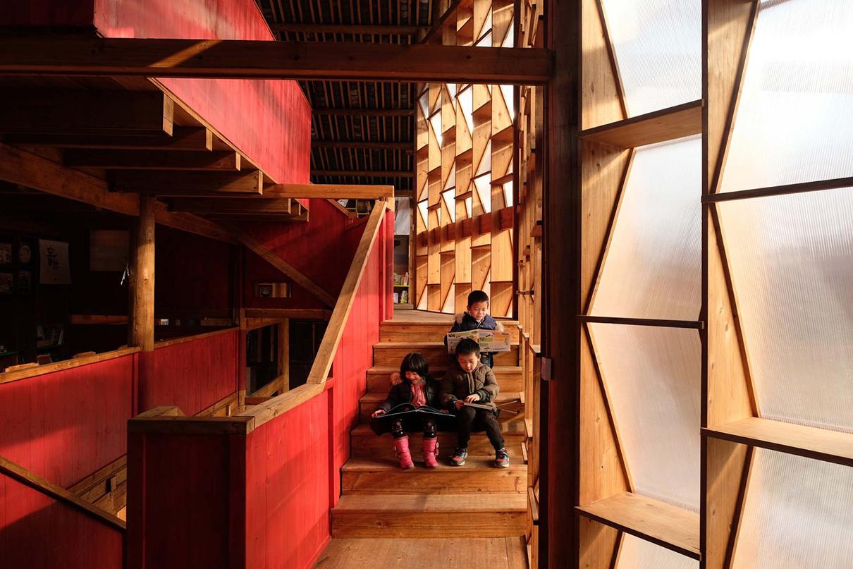 Детская библиотека, Китай