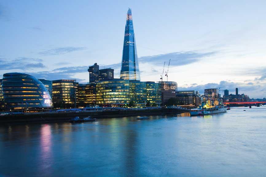 The Shard в Лондоне