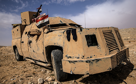 Бронемашина сирийской армии
