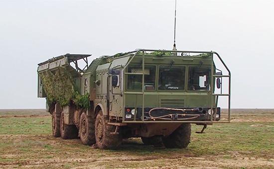 Подготовка кбоевому пуску ракеты изкомплекса «Искандер-М», апрель 2016 года