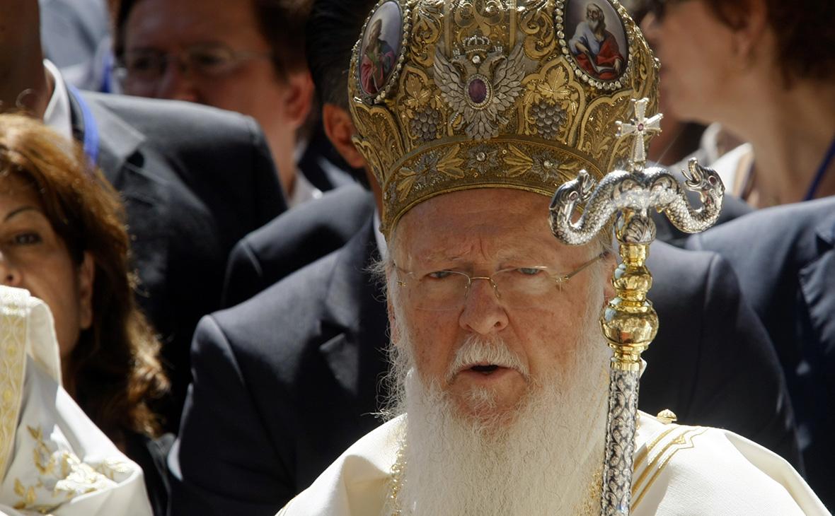 Вселенский патриарх Варфоломей. 2010 год