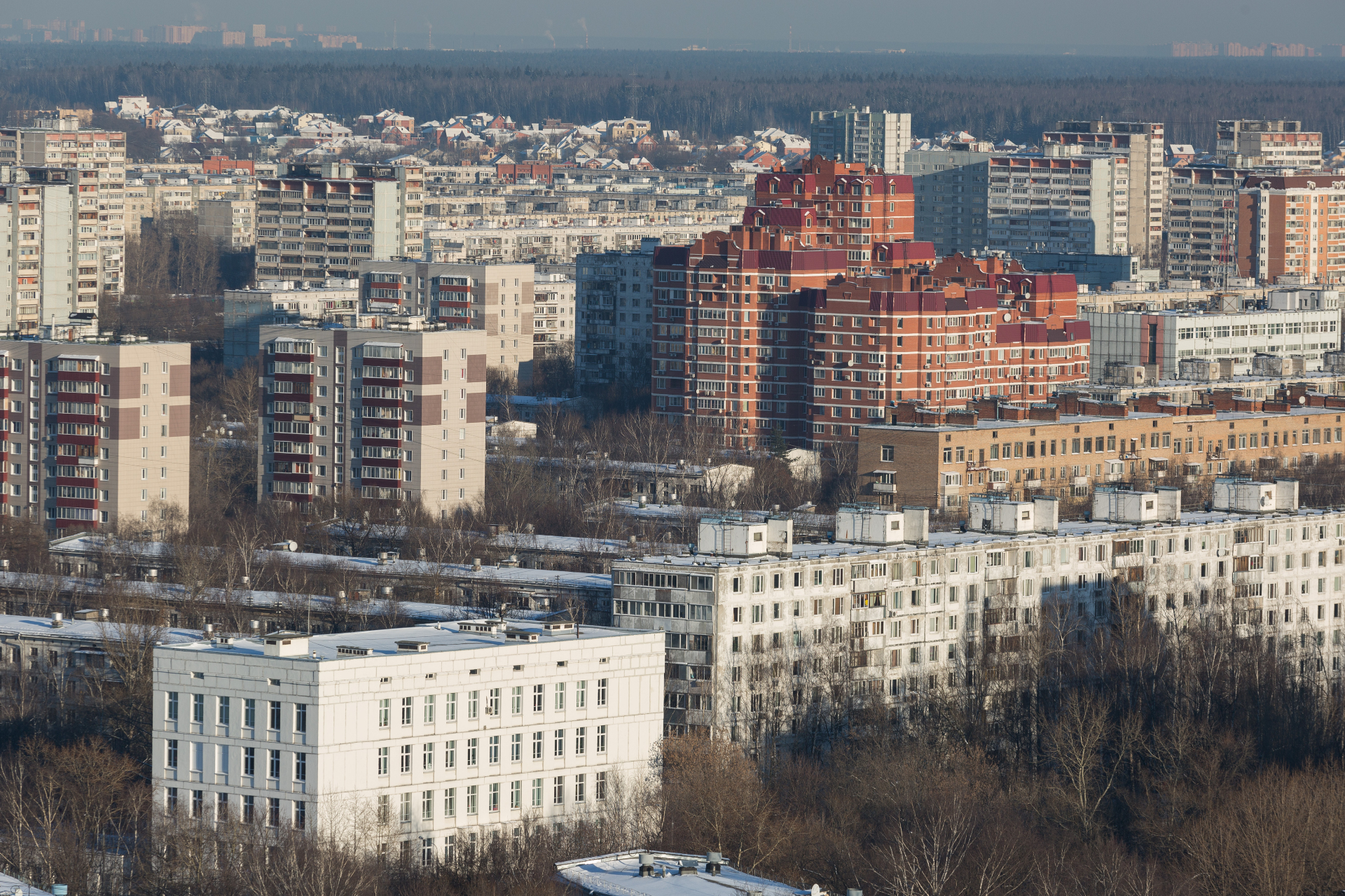 Вид на район Гольяново