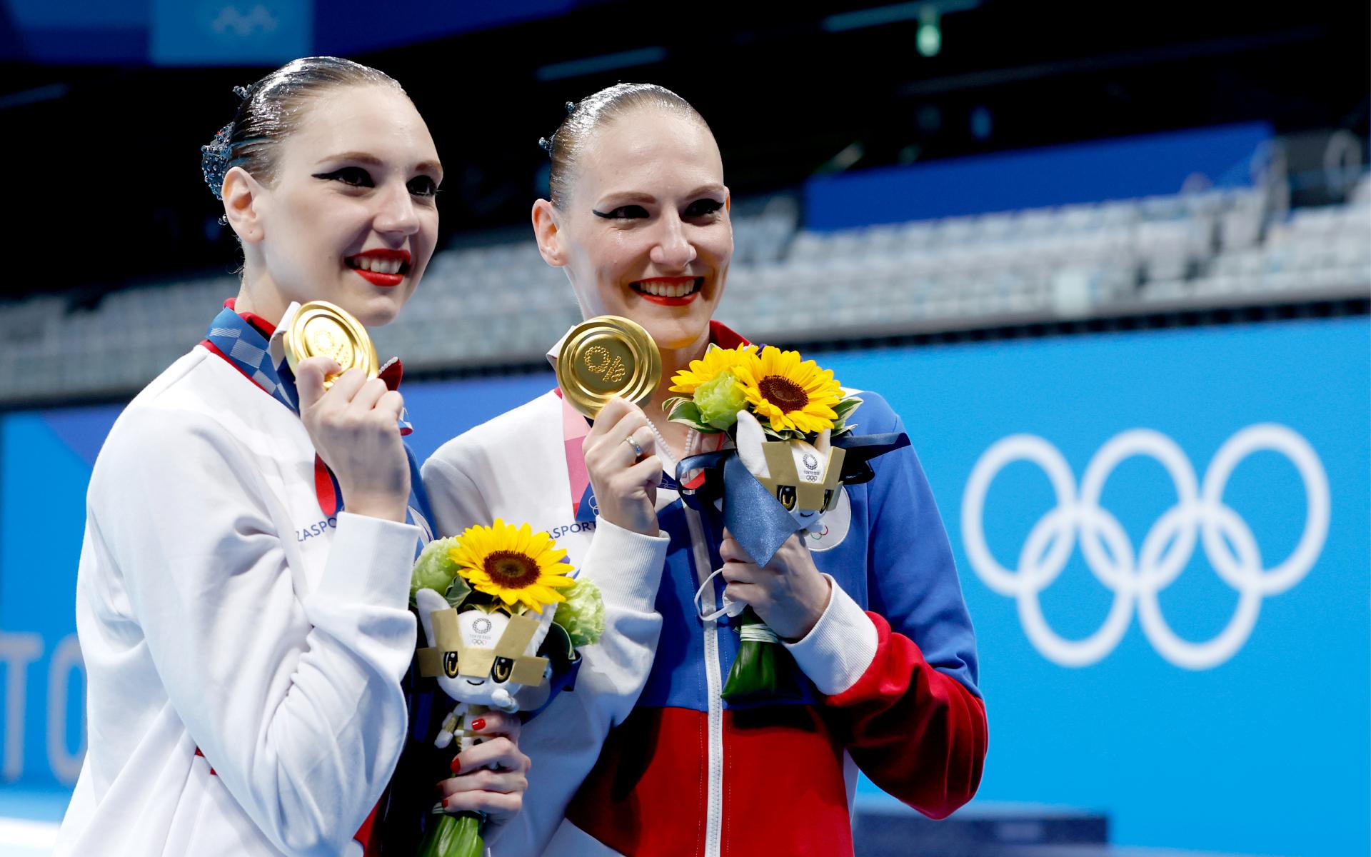 Фото: Светлана Ромашина и Светлана Колесниченко (PATRICK B. KRAEMER\EPA)
