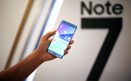Samsung подешевел на $22 млрд за два дня из-за отзыва Galaxy Note 7