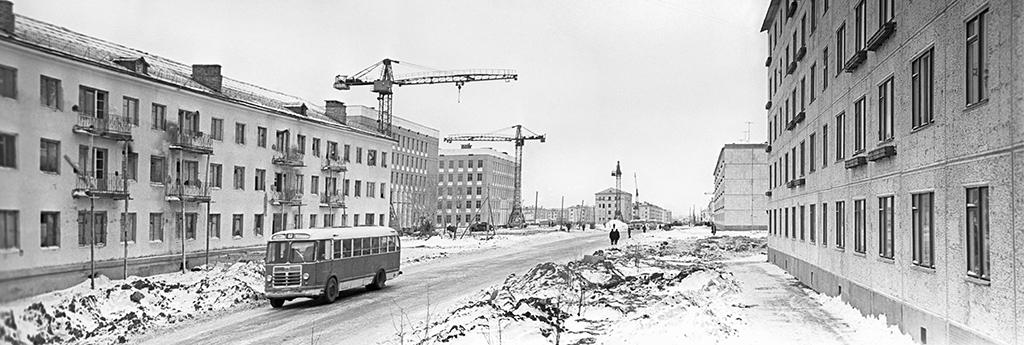 Город Целиноград, КазахскаяССР. 1961 год