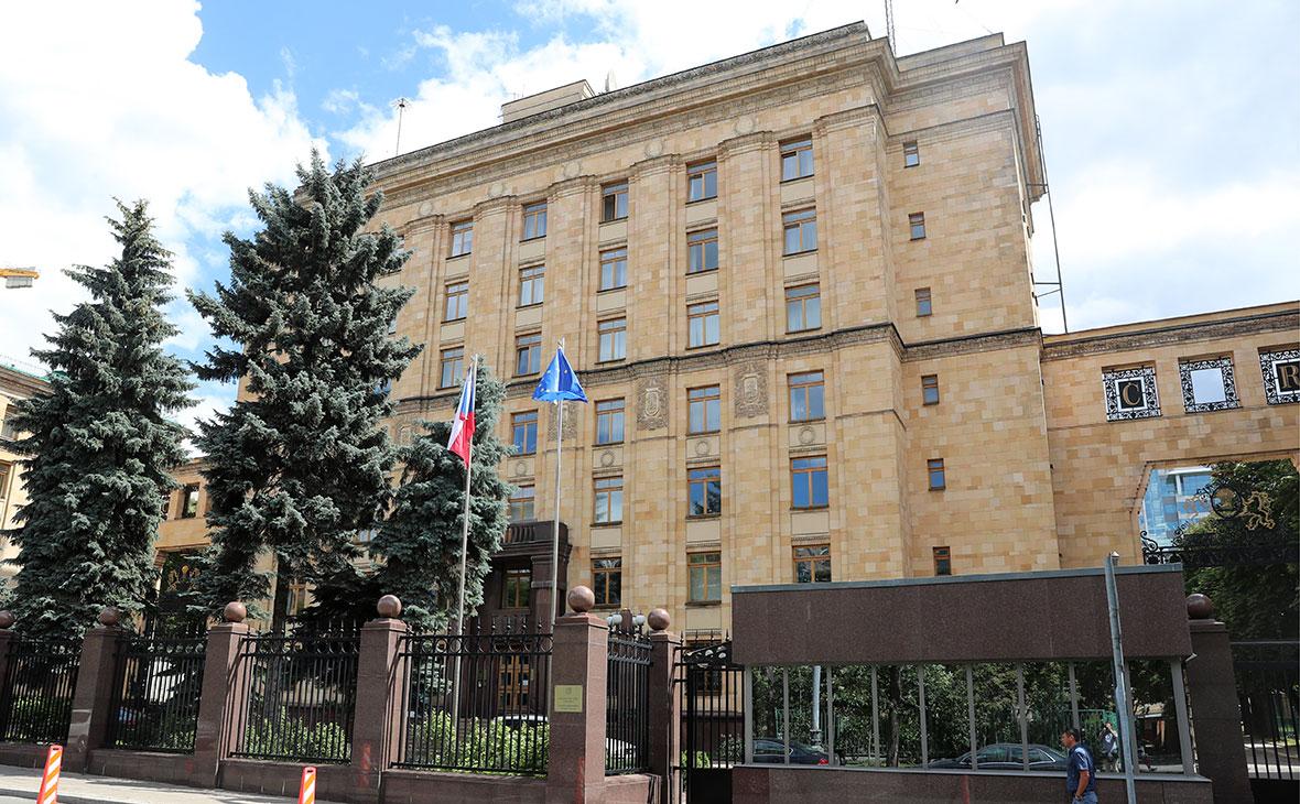 Здание посольства Чехии в России