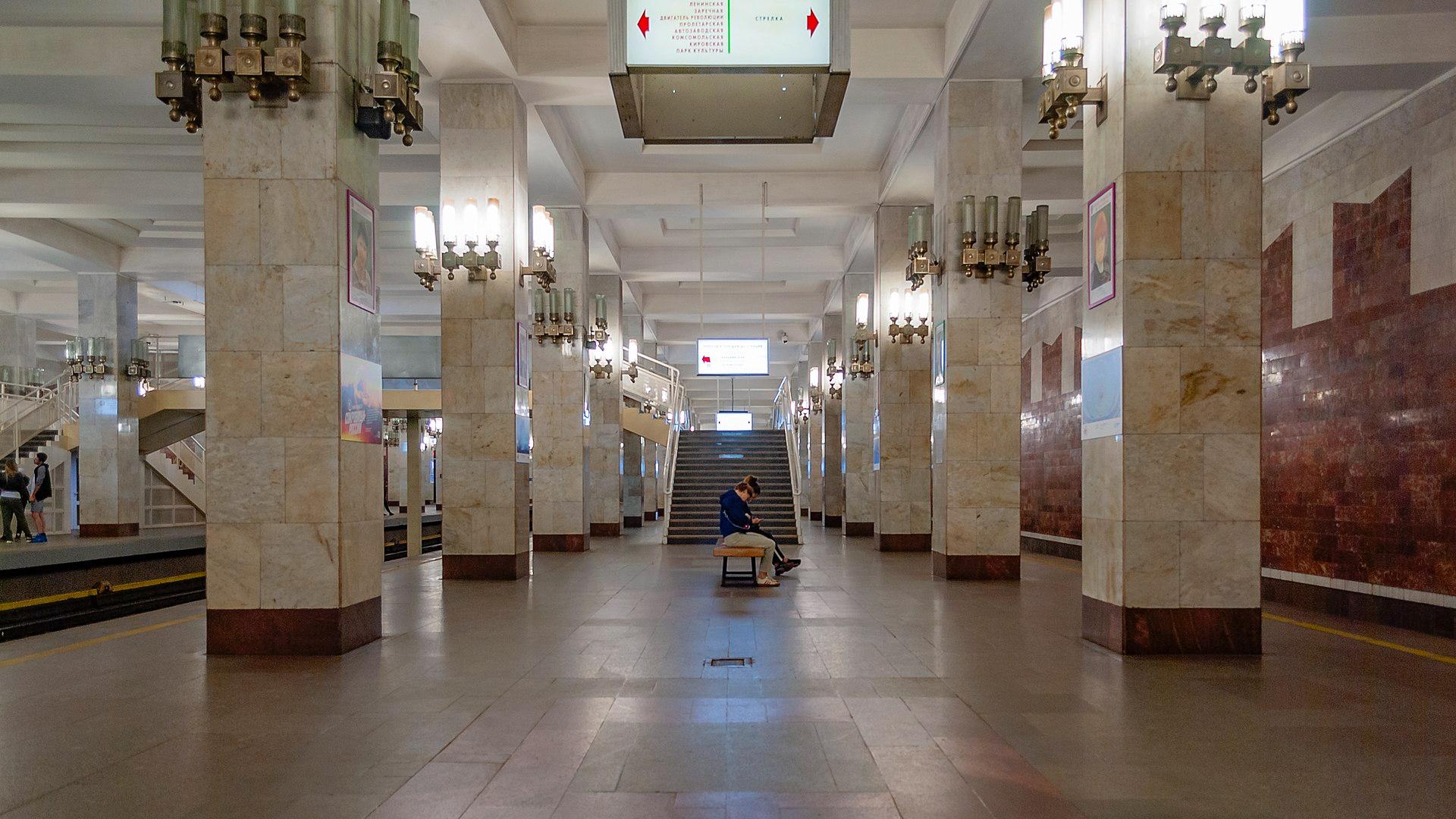 Станция «Московская» Нижегородского метрополитена