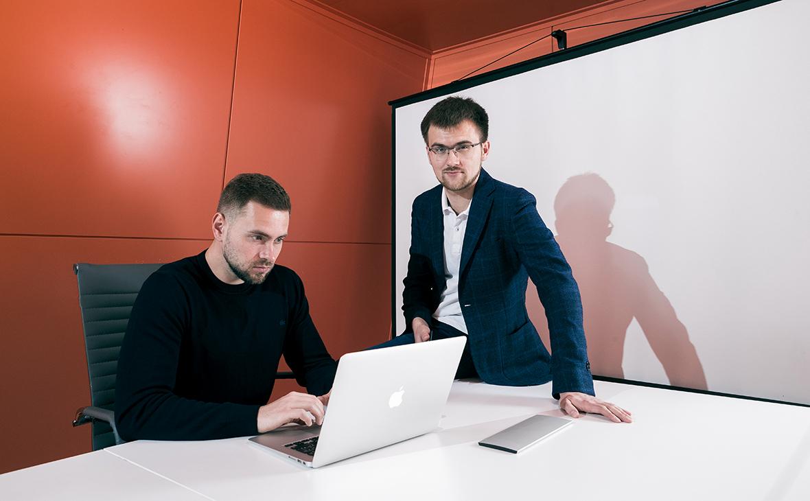 Сергей Шаров и Сергей Захаров (слева направо)