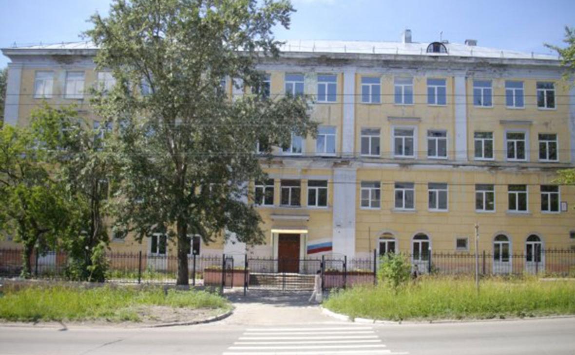Вид на МАОУ «Лицей №1» в городе Березники